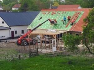 De dakpannen