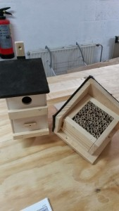 Vogelhuisje - Bijenhotel! - september 2014