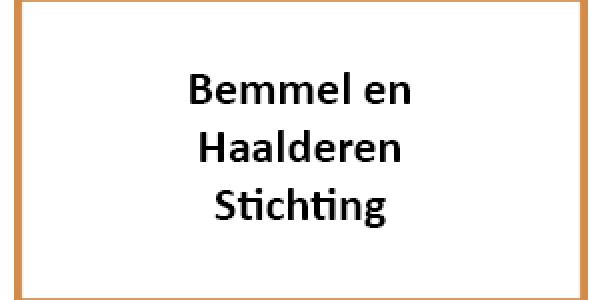 Bemmel & Haaldering stichting logo